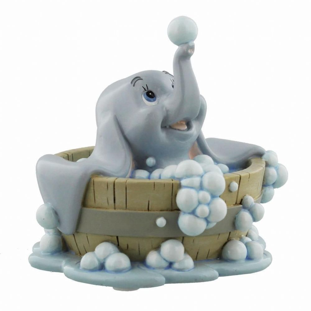 Disney Dumbo Figurine Magical Moments Dumbo In Bath